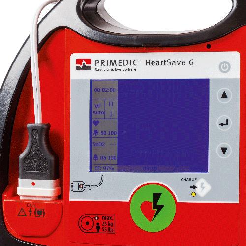 AED Defibrillator HeartSave AED 6 6S PRIMEDIC 002
