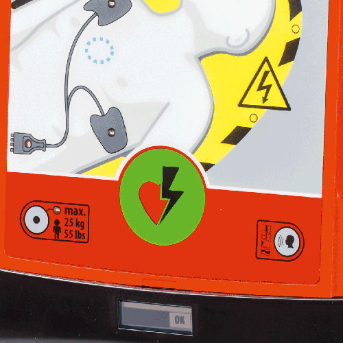 AED Defibrillator HeartSave AED PRIMEDIC 004
