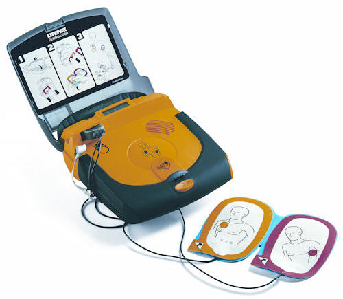 AED Defibrillator Physio Control Lifepak CR Plus 002